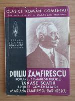 Duiliu Zamfirescu - Tanase Scatiu (volumul 2, 1940)