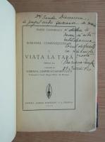 Duiliu Zamfirescu - Viata la tara. Tanase Scatiu (2 volume coligate, cu autograful autorului, 1939)
