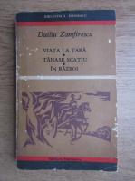 Duiliu Zamfirescu - Viata la tara, Tanase Scatiu, In razboi