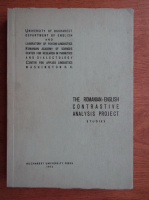 Dumitru Chitoran - The romanian-english contrastive analysis project. Studies