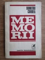 Dumitru Corbea - Memorii