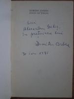 Dumitru Corbea - Sange de taran (cu autograful autorului)