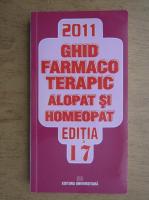 Anticariat: Dumitru Dobrescu - Ghid farmacoterapic alopat si homeopat (volumul 2)