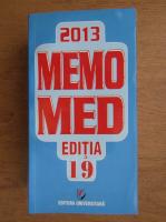 Dumitru Dobrescu - Memomed 2013 (volumul 1)