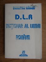 Anticariat: Dumitru I. Hancu - Dictionar al limbii romane