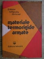 Anticariat: Dumitru Nistor - Materiale termorigide armate