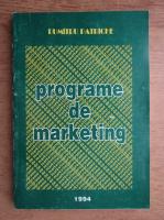 Anticariat: Dumitru Patriche - Programe de marketing