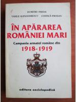 Dumitru Preda - In apararea Romaniei Mari. Campania armatei romane din 1918-1919