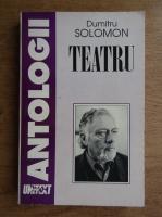 Dumitru Solomon - Teatru
