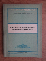 Dumitru Stoenciu - Automatica dispozitivelor de admisie supersonice