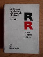 Dumitru Turtoi - Dictionar de chimie si inginerie chimica rus-roman