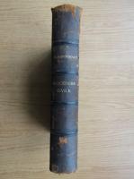Anticariat: E. Garsonnet - Precis de procedure civile (1909)