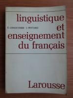 Anticariat: E. Genouvrier - Linguistique et enseignement du francais
