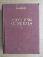 E. I. Borisenko - Zootehnia generala