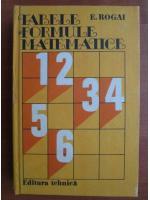E. Rogai - Tabele si formule matematice