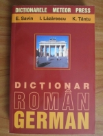 Anticariat: E. Savin - Dictionar roman-german