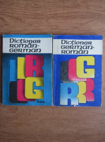 E. Sireteanu - Dictionar german roman. Dictionar roman german (2 volume)