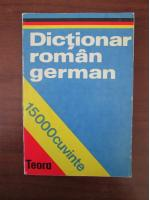 E. Sireteanu - Dictionar Roman-German