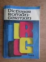 E. Sireteanu, I. Tomeanu - Dictionar roman-german