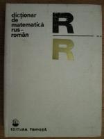Ecaterina Fodor - Dictionar de matematica rus-roman