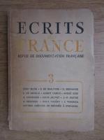 Ecrits de France, nr. 3, 1946