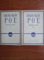 Anticariat: Edgar Allan Poe - Scrieri alese (2 volume)