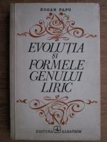 Edgar Papu - Evolutia si formele genului liric