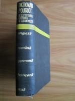Anticariat: Edmond Nicolau - Dictionar poliglot de electrotehnica, electronica si telecomunicatii (engleza-romana-germana-franceza-rusa)