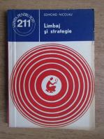 Anticariat: Edmond Nicolau - Limbaj si strategie