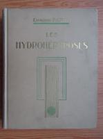 Anticariat: Edmond Papin - Les hydronephroses (1930)