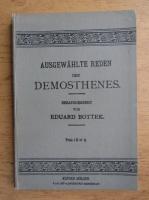 Anticariat: Eduard Bottek - Ausgewahlte reden des Demosthenes (1897)