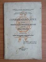Eduard Dragomirescu Buzne - Consideratiuni critice asupra principalelor operatiuni militare ale lui Mihai Viteazul (1936)