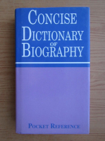 Anticariat: Edwin Moore - Concise dictionary of biography