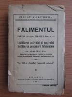 Anticariat: Eftimie Antonescu - Falimentul (volumul 2, 1931)