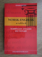 Anticariat: Einar Haugen - Norwegian-English dictionary