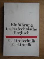 Anticariat: Einfuhrung in das technische Englisch