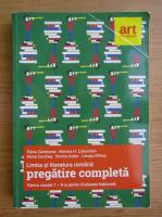 Anticariat: Elena Carstocea - Limba si literatura romana. Pregatire completa pentru clasele a VII-a si a VIII-a si pentru evaluarea nationala