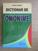 Anticariat: Elena Cracea - Dictionar de omonime