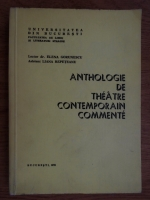 Elena Gorunescu - Anthologie de theatre contemporain commente