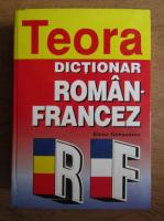 Anticariat: Elena Gorunescu - Dictionar roman-francez