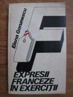 Elena Gorunescu - Expresii franceze in exercitii