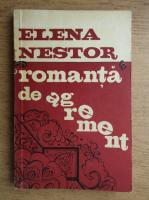 Anticariat: Elena Nestor - Romanta de agrement