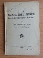 Elena Radulescu Pogoneanu - Din metodica limbei franceze (1935)