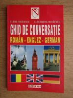 Elena Rieswick - Ghid de conversatie roman, englez, german