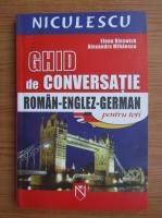 Elena Rieswick - Ghid de conversatie roman-englez-german