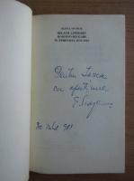 Anticariat: Elena Siupiur - Relatii literare romano-bulgare in perioada 1878-1918 (cu autograful si dedicatia autoarei pentru Balogh Jozsef)