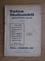 Anticariat: Eleonora Porter - Pollyanna sau taina multumirii (volumul 1, circa 1930)