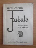 Anticariat: Eliezer Steinbarg - Fabule (1947)