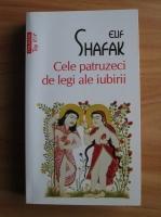 Elif Shafak - Cele patruzeci de legi ale iubirii (Top 10+)