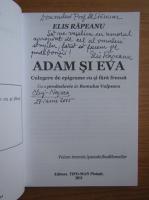 Elis Rapeanu - Adam si Eva. Culegere de epigrame cu si fara frunza (cu autograful autoarei)